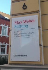 Max Weber Stiftung, Geschäftsstelle in Bad Godesberg