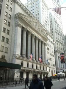 Die Börse an der New Yorker Wall Street war immer wieder Ausgangspunkt globaler wirtschaftlicher Umbrüche