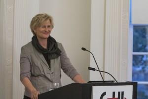 Simone Lässig im Institut (Foto @DHI Washington)