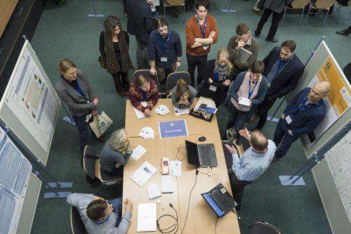 Mehr als Hardware und Software: Digitale Infrastrukturen sind integraler Teil der wissenschaftlichen Communities. (Foto: Johannes Biermann, CC-BY 4.0, https://creativecommons.org/licenses/by/4.0/)